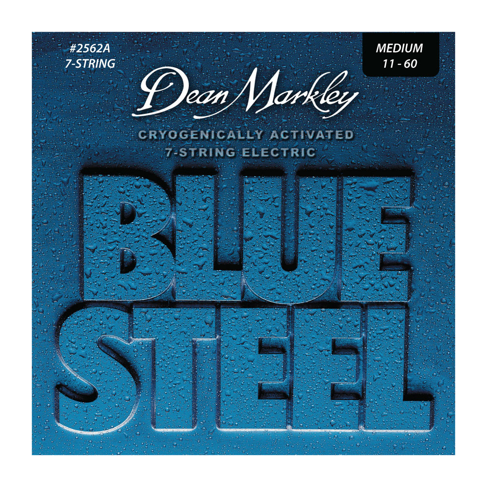 Dean Markley Blue Steel Electric Guitar Strings 7 String Set (.011 - .060)