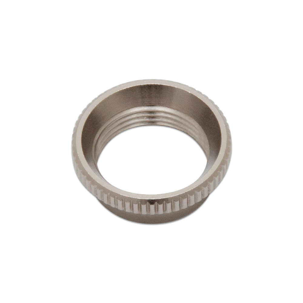 Switchcraft Deep Knurled Nut for Toggle Switches (Nickel)