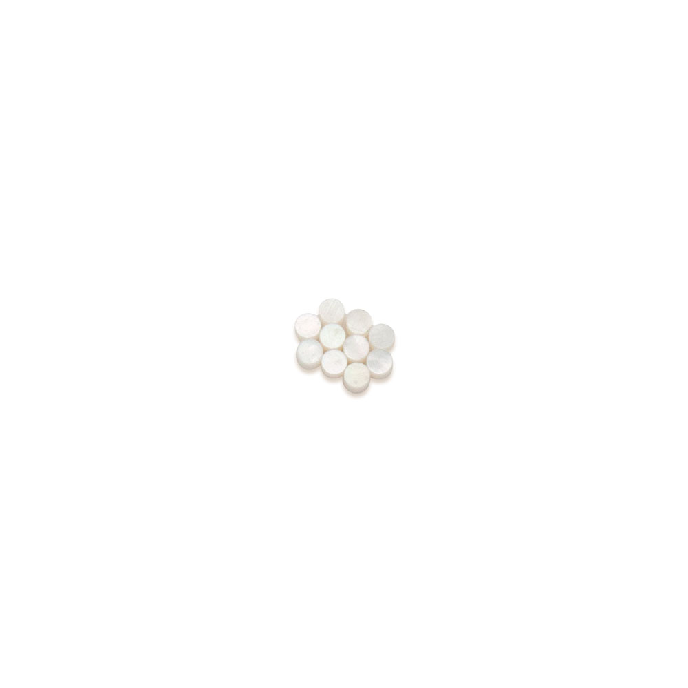Hosco Mother of Pearl Dots Shell Guitar Inlay (2 mm)