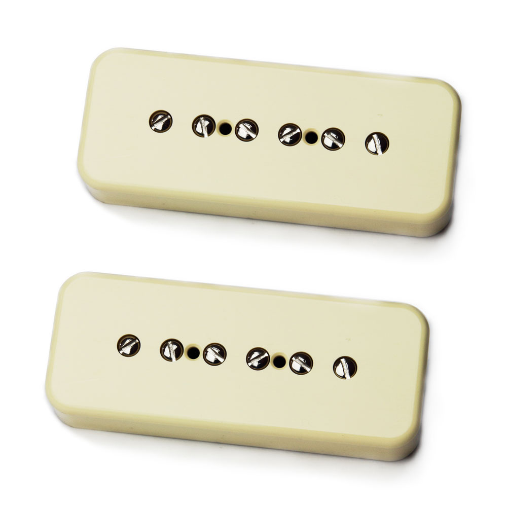 Bare Knuckle Pickups Boot Camp True Grit P90 Set (Cream)