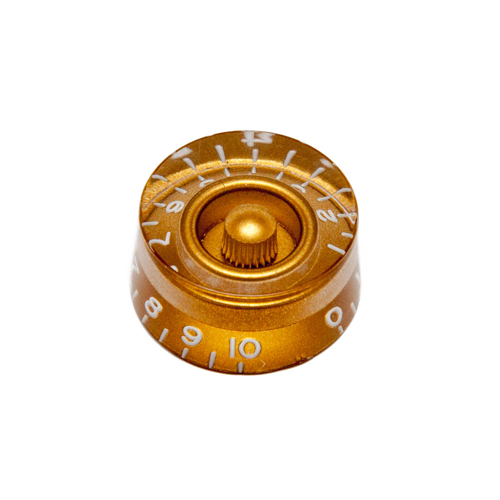 Hosco Speed Control Knob Gibson Style (Gold, Metric (mm))