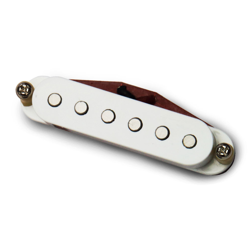 Bare Knuckle Pickups Boot Camp True Grit Neck Single Coil (White)