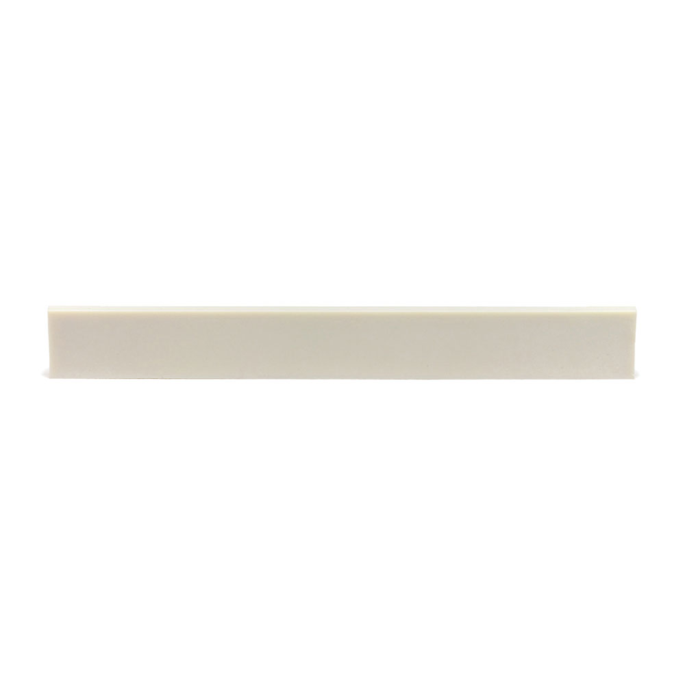 "Graph Tech TUSQ 3/32"" Blank Acoustic Saddle Slab (White)"