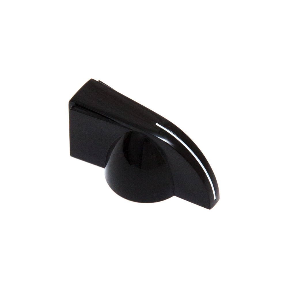Hosco Chicken Head Pointer Control Knob for Guitar/Amp/Pedal (Black)