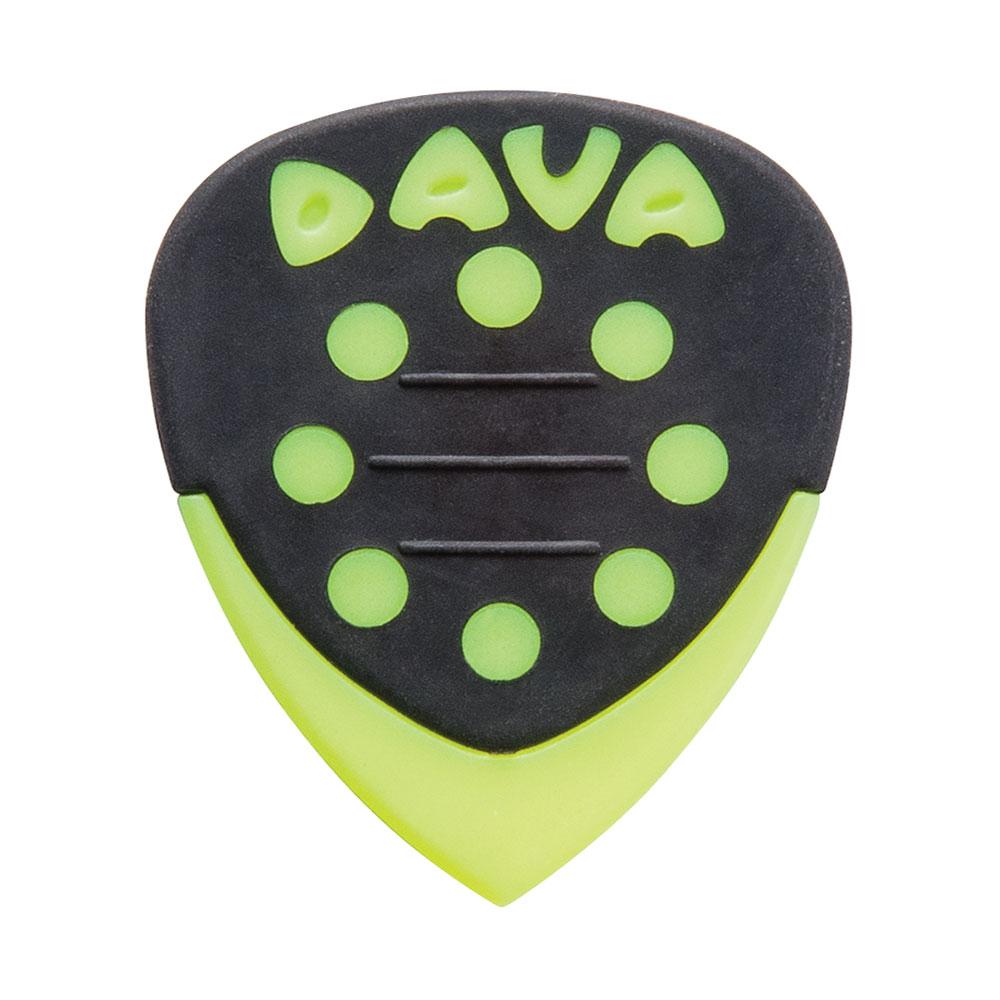 Dava Grip Tips Nylon Picks/Plectrums (Pack of 36)