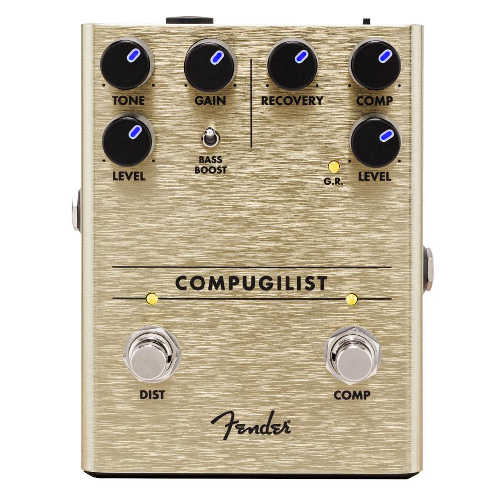 Fender Compugilist Compressor & Distortion Pedal
