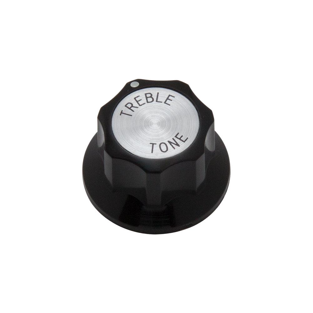 Hosco Rickenbacker Style Tone Control Knob Metric (Treble)