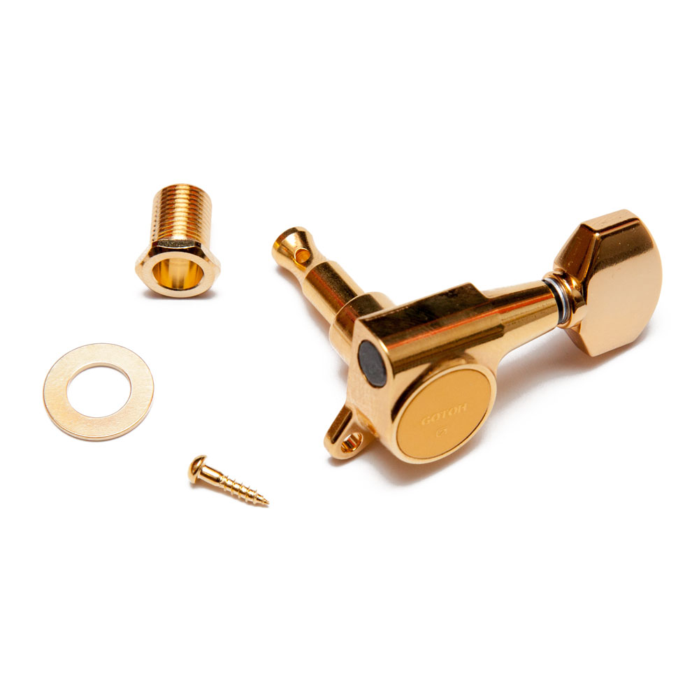 Gotoh SG381 Tuners 3 x 3 (Gold, 07)