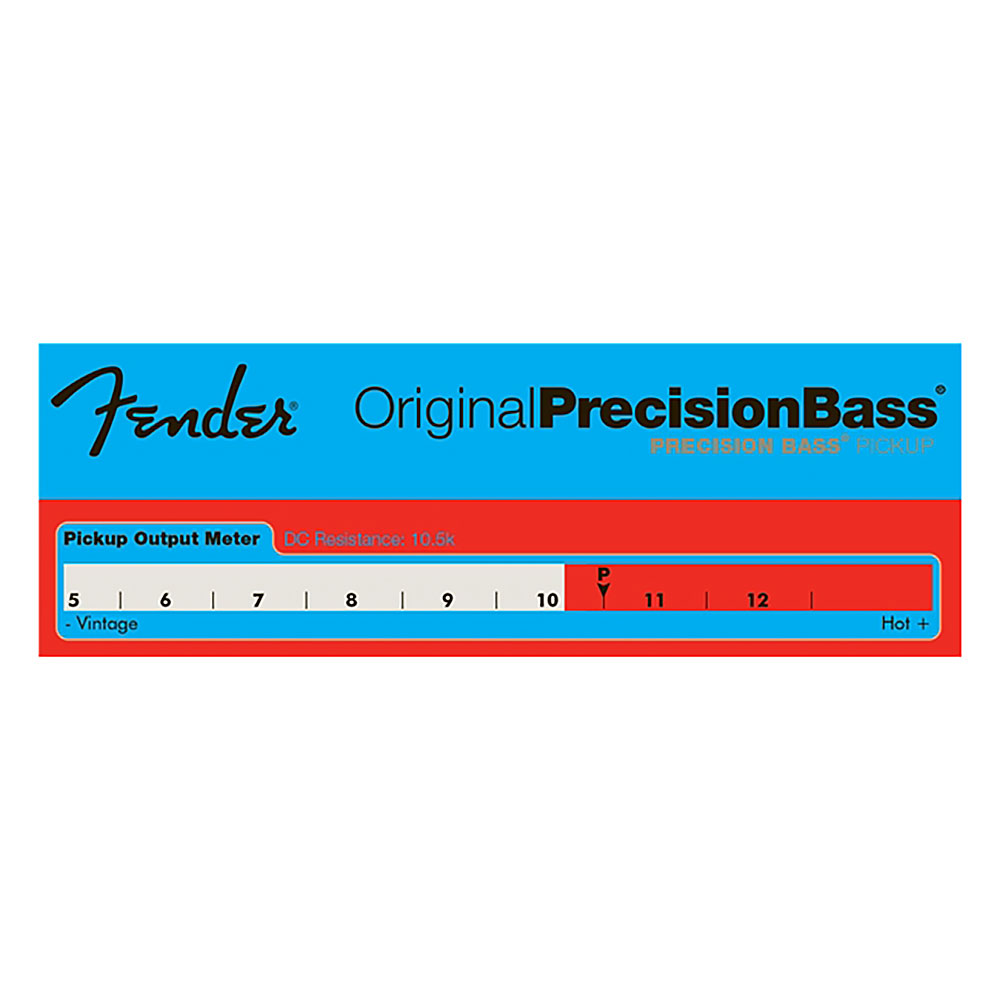 Fender Original Precision Bass Pickup Set (Black)