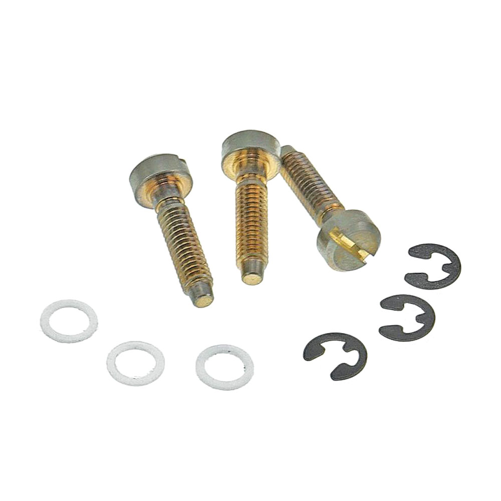Faber Replacement ABR-1 Style Saddle Screws Set of 3 (Aged/Relic Gold)