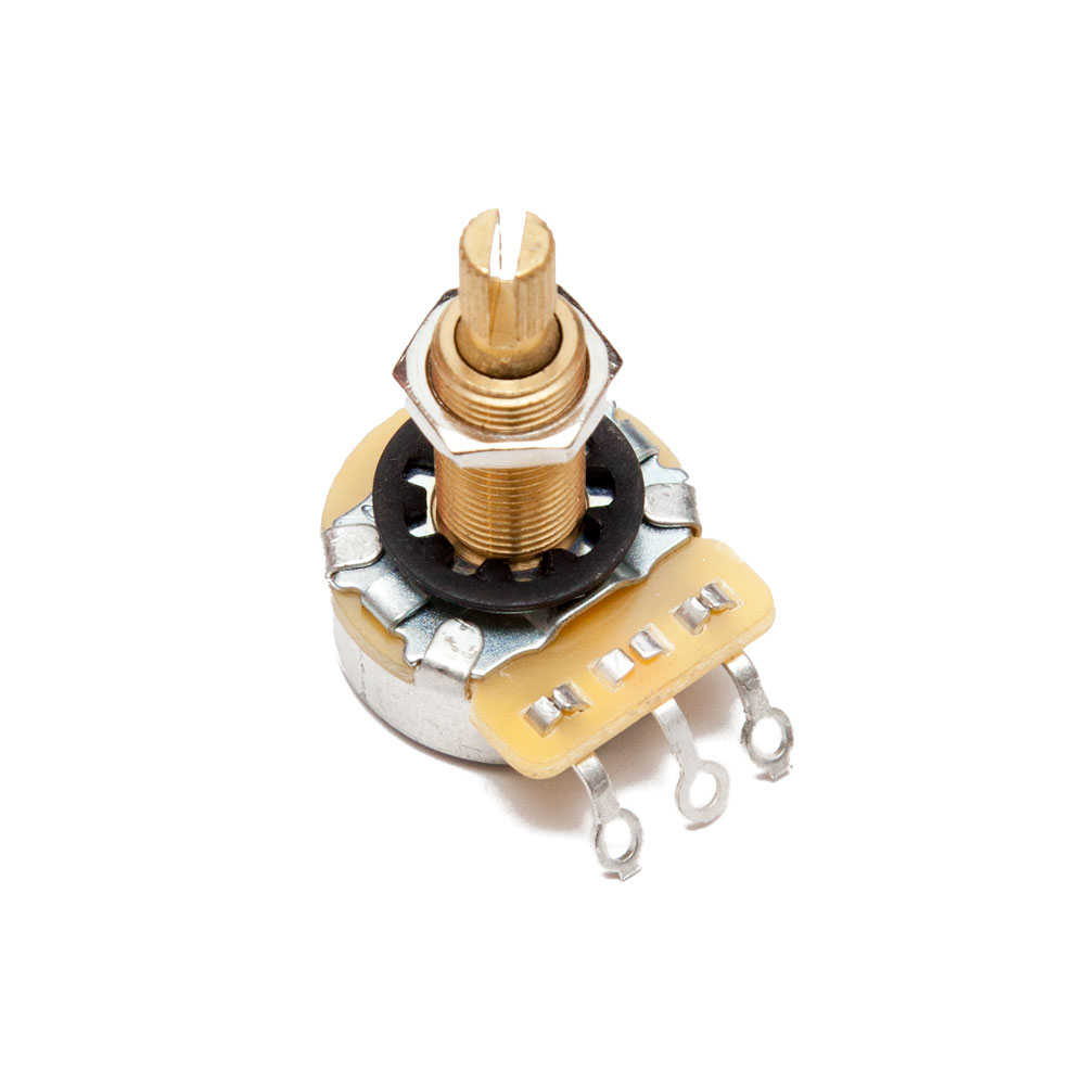 CTS 500K Audio Taper Long Shaft Guitar Potentiometer