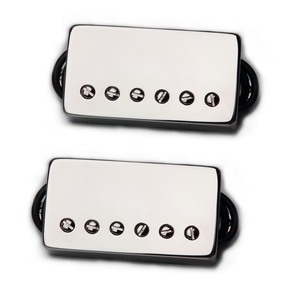 Bare Knuckle Pickups Boot Camp Brute Force Humbucker Set (Nickel, 50 mm)