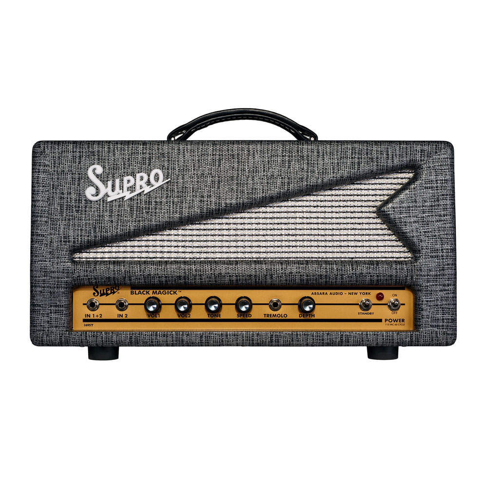 Supro 1695TH Black Magick 25W Head Amplifier