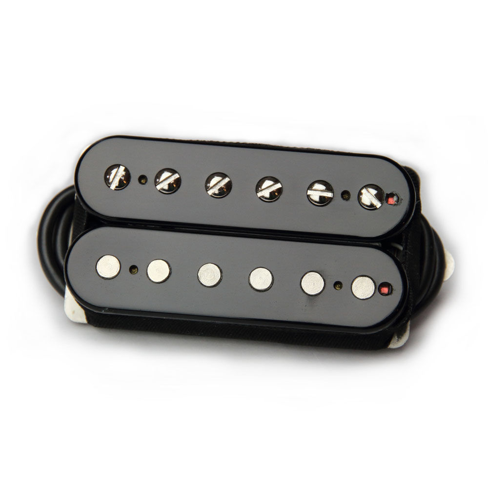 Bare Knuckle Pickups Boot Camp Brute Force Bridge Humbucker (Black, 50 mm)
