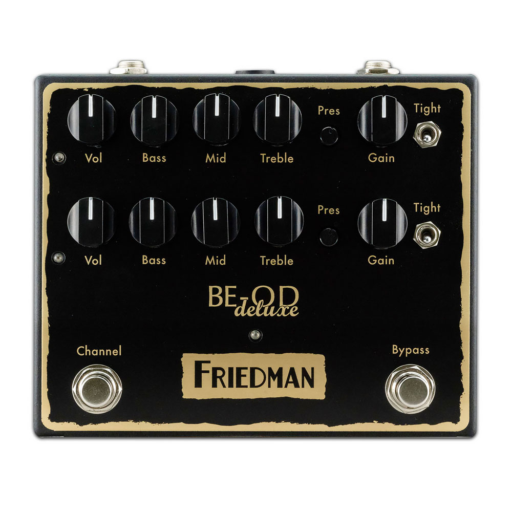 Friedman BE-OD Deluxe 2 Channel Overdrive Pedal