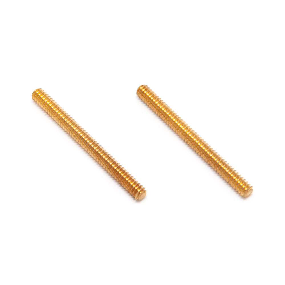 """Faber Extra Long 1.5"""" Steel ABR-1 Tune-o-matic Posts (Gold, Imperial (inch))"""