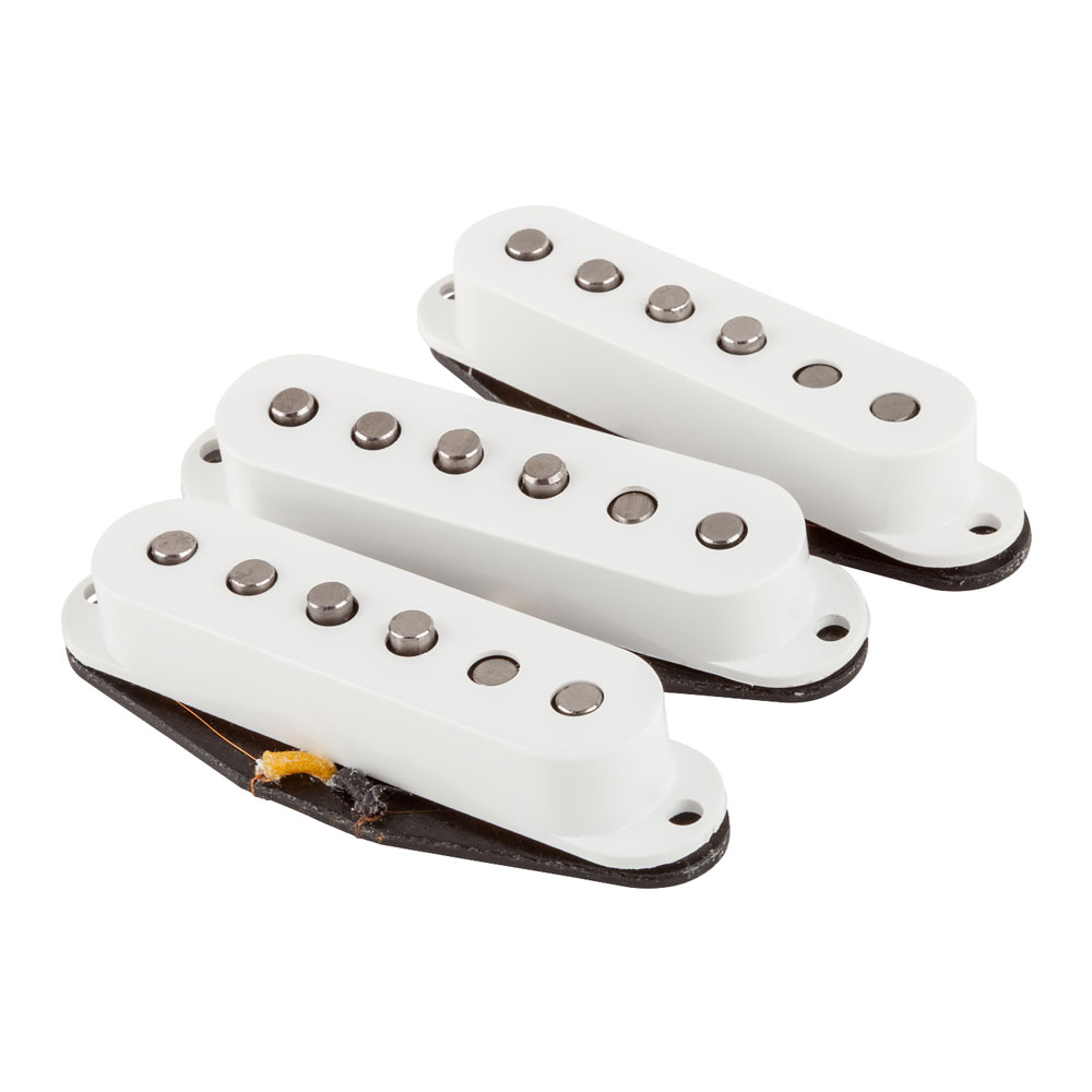 Fender Custom Shop Fat '50s Stratocaster Single Coil Pickups Set (White)