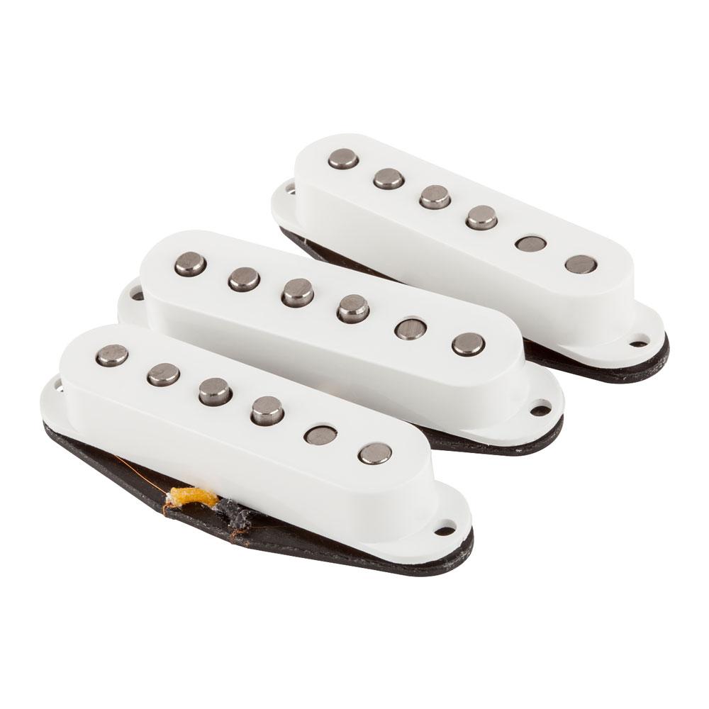 Fender Custom Shop Fat '50s Stratocaster Single Coil Pickups Set (White)