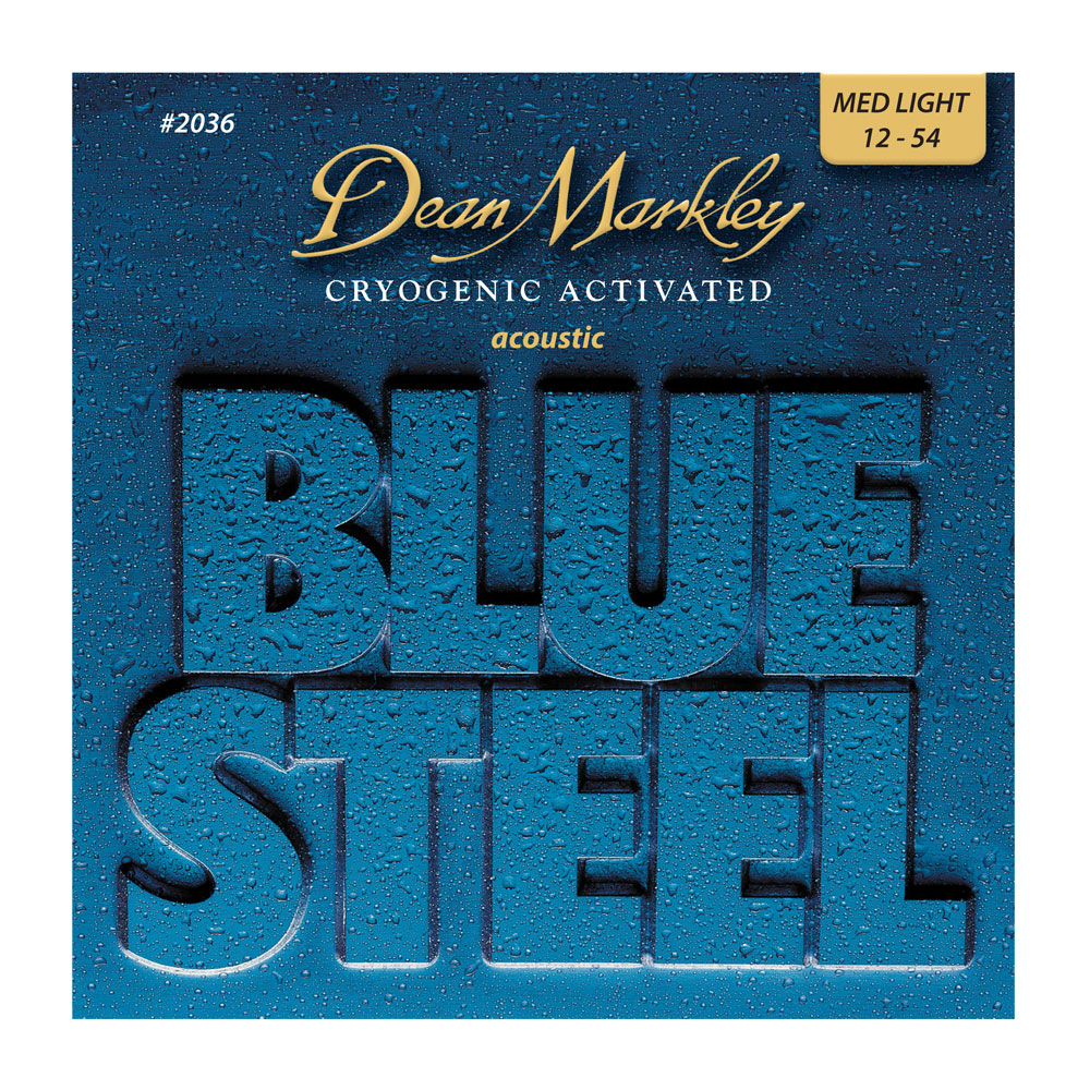 Dean Markley Blue Steel Acoustic Guitar Strings (.012 - .054)