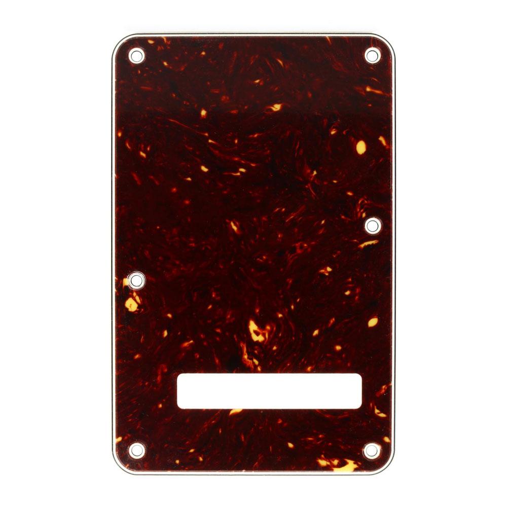 Fender Stratocaster Modern Style Tremolo Back Plate Cavity Cover (Tortoise)