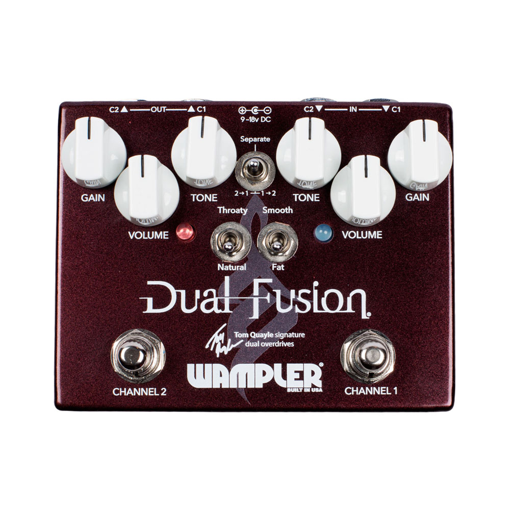 Wampler Dual Fusion Overdrive Pedal (Tom Quayle Signature)