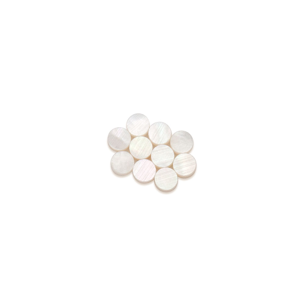 Hosco Mother of Pearl Dots Shell Guitar Inlay (4 mm)