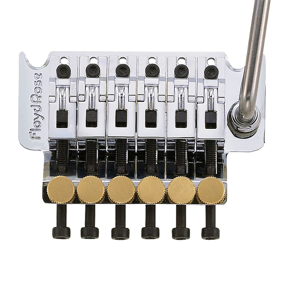 Floyd Rose Original 1984 Double Locking Tremolo System with Nut (Chrome)
