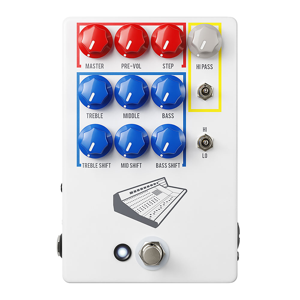 JHS Pedals Colour Box V2 Preamp Pedal