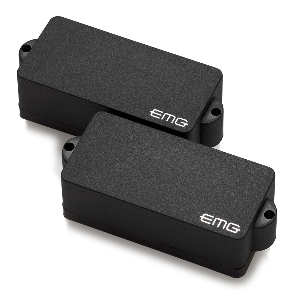 EMG P Bass Pickup Set (Black)