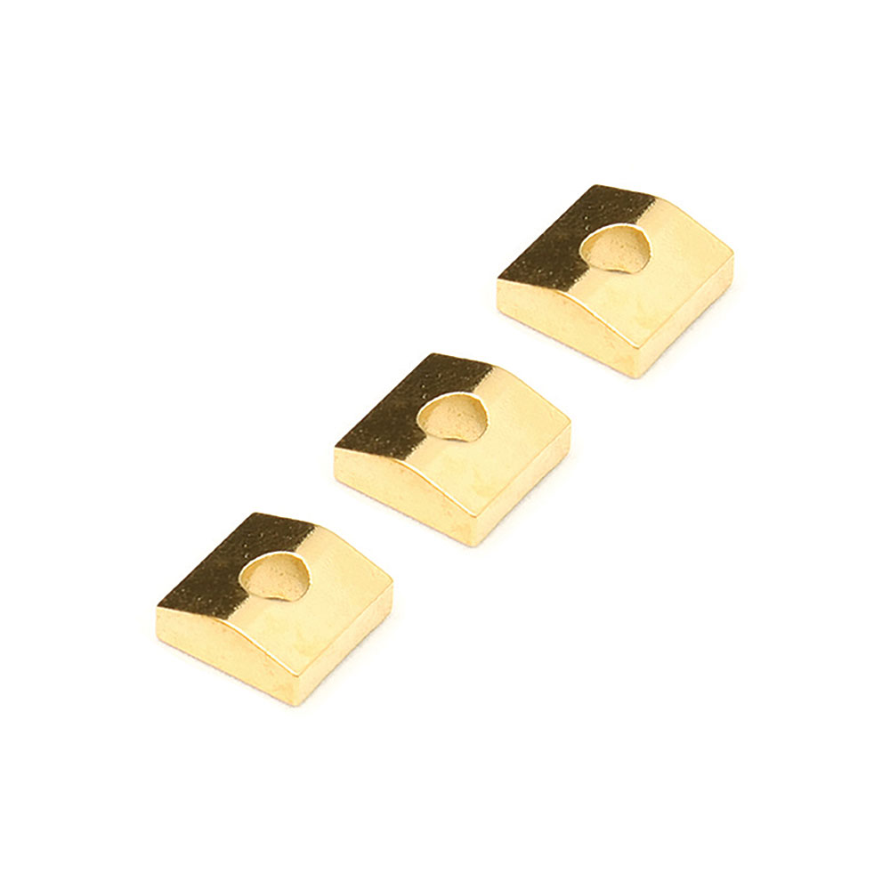 Floyd Rose Original Tremolo Locking Nut String Clamping Blocks Set of 3 (Gold)