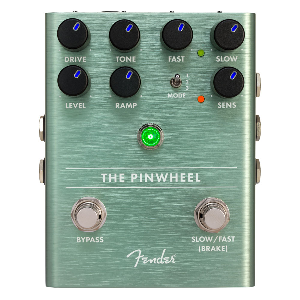 Fender The Pinwheel Rotary Speaker Emulator Leslie Style Pedal