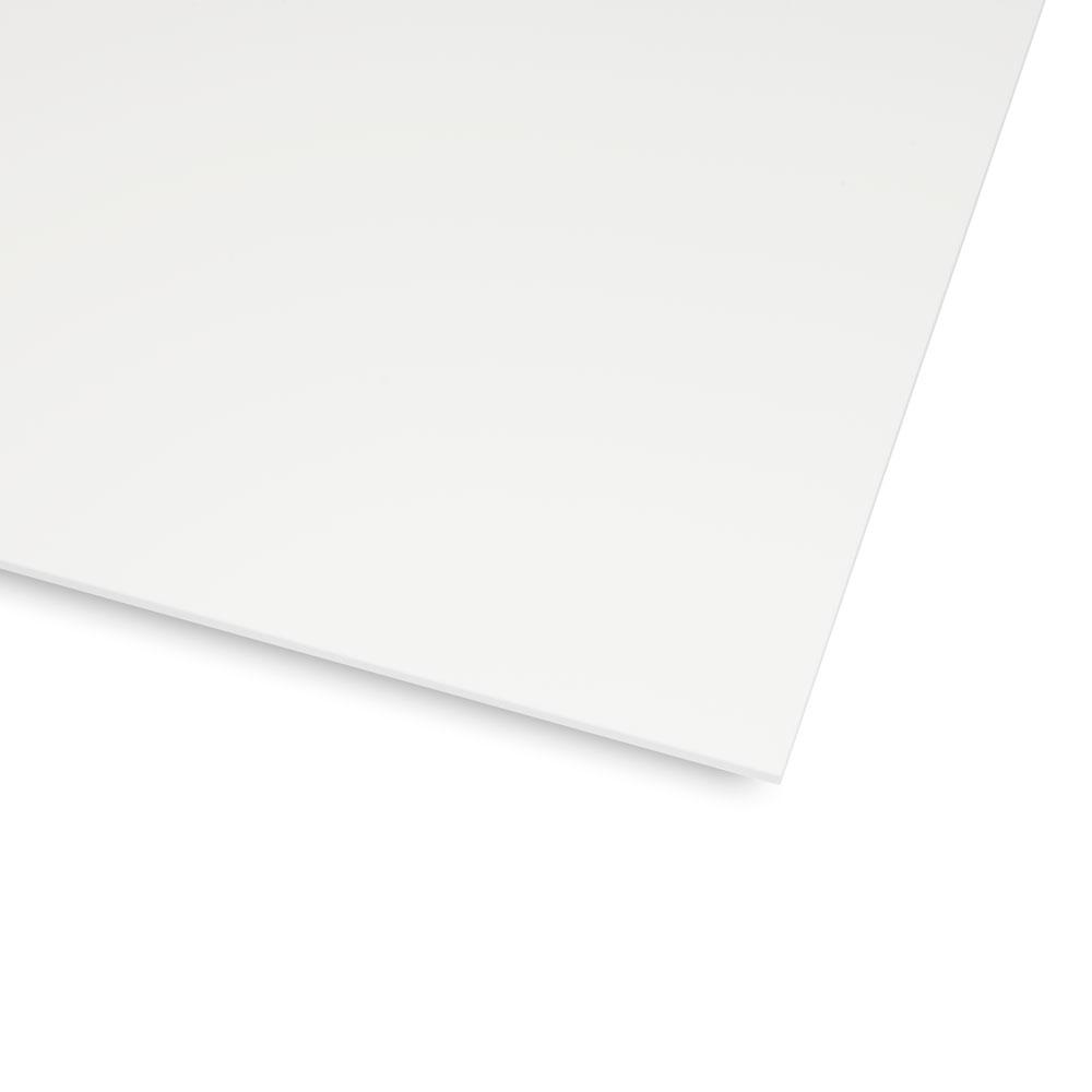 Boston Blank 1 Ply Scratchplate/Pickguard Sheet Material (White)