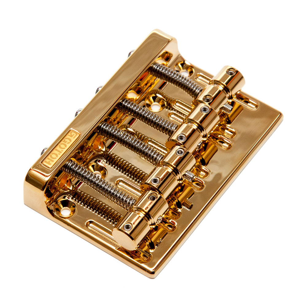 Gotoh 201B-4 Hardtail Bass Bridge (Gold)