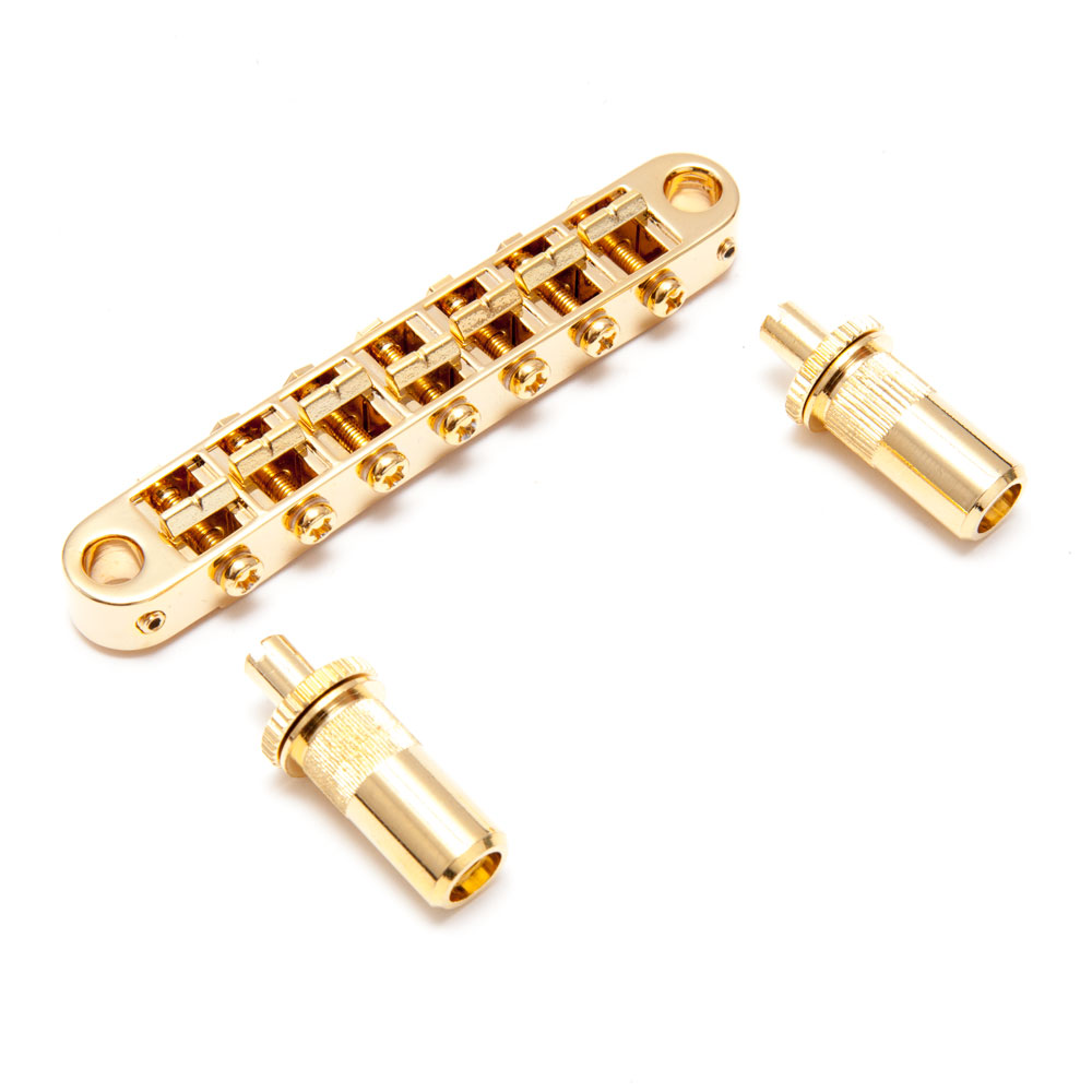 TonePros TP7 7 String Tune-o-matic Bridge (Gold)