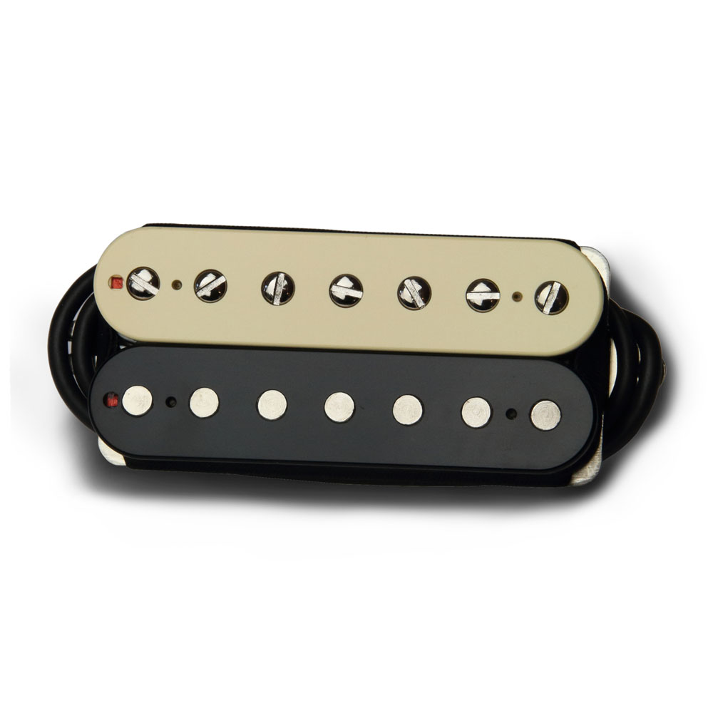 Bare Knuckle Pickups Boot Camp True Grit 7 String Bridge Humbucker (Zebra)
