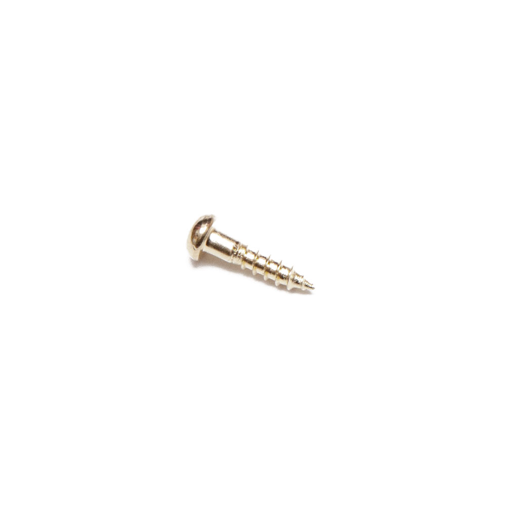 Gotoh Truss Rod Cover Mounting Screws 2.1 mm x 10 mm (Nickel)