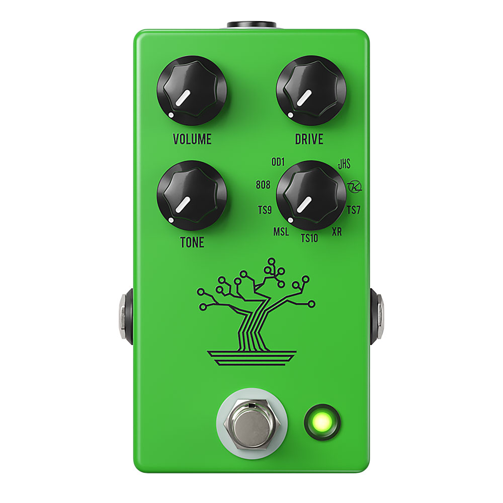 JHS Pedals Bonsai Overdrive Pedal 9 in 1 Tube Screamer
