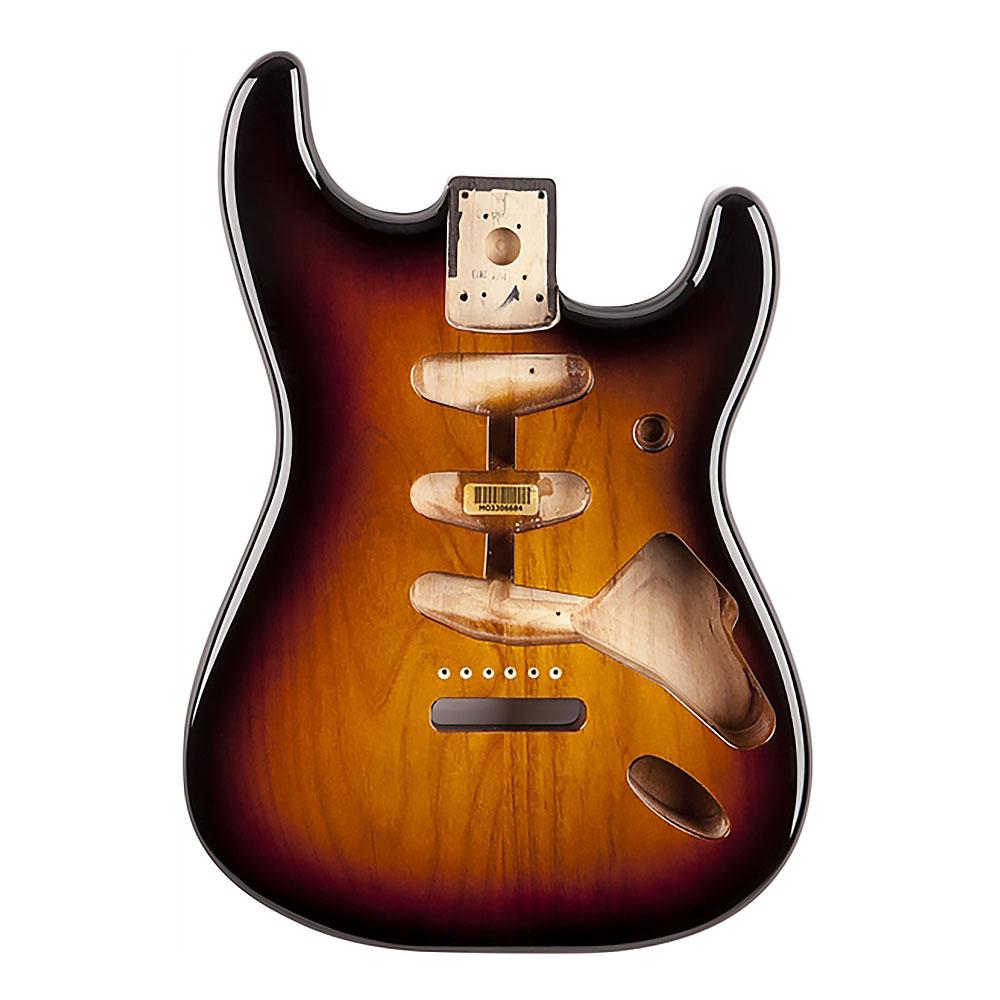 Fender Classic Series 60's Stratocaster Alder Body Vintage Bridge Mount (3 Colour Sunburst)