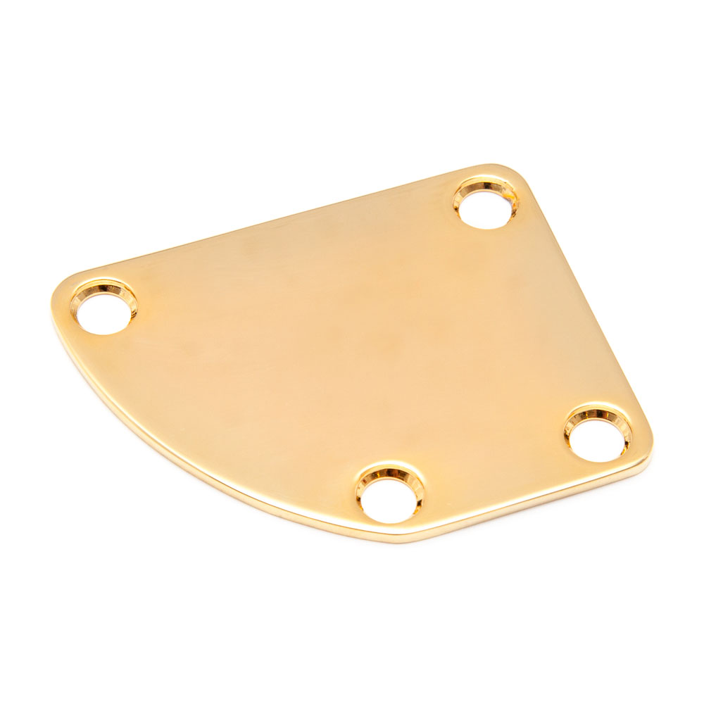 Boston Curved Neck Plate Fender Deluxe Style (Gold)