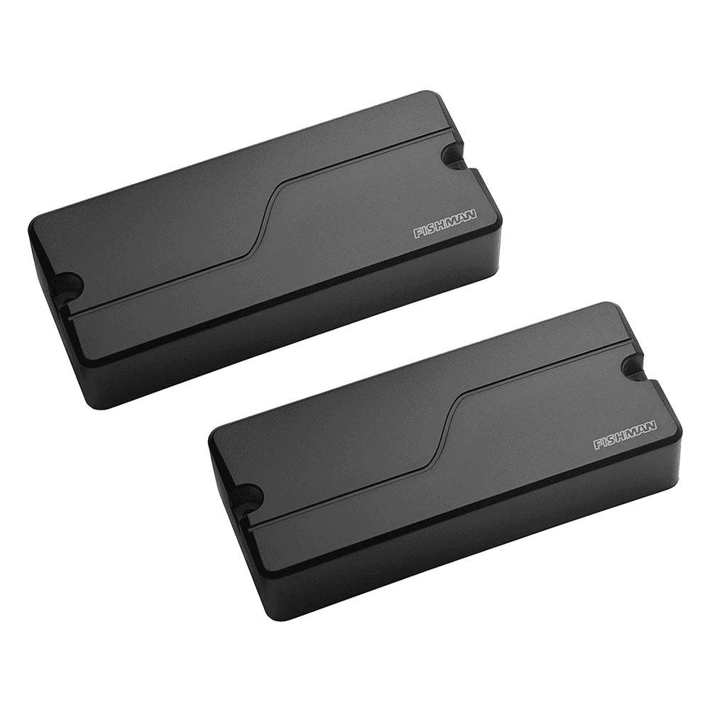 Fishman Fluence Tosin Abasi Modern 7 String Humbucker Soap Bar Pickup Set (Black)