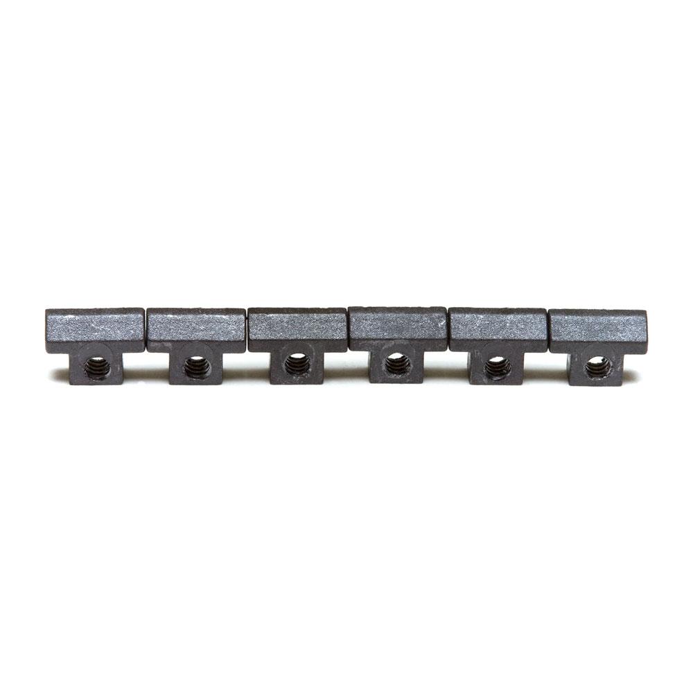 Graph Tech String Saver ABR-1 Tune-o-matic Bridge Saddles (Black)