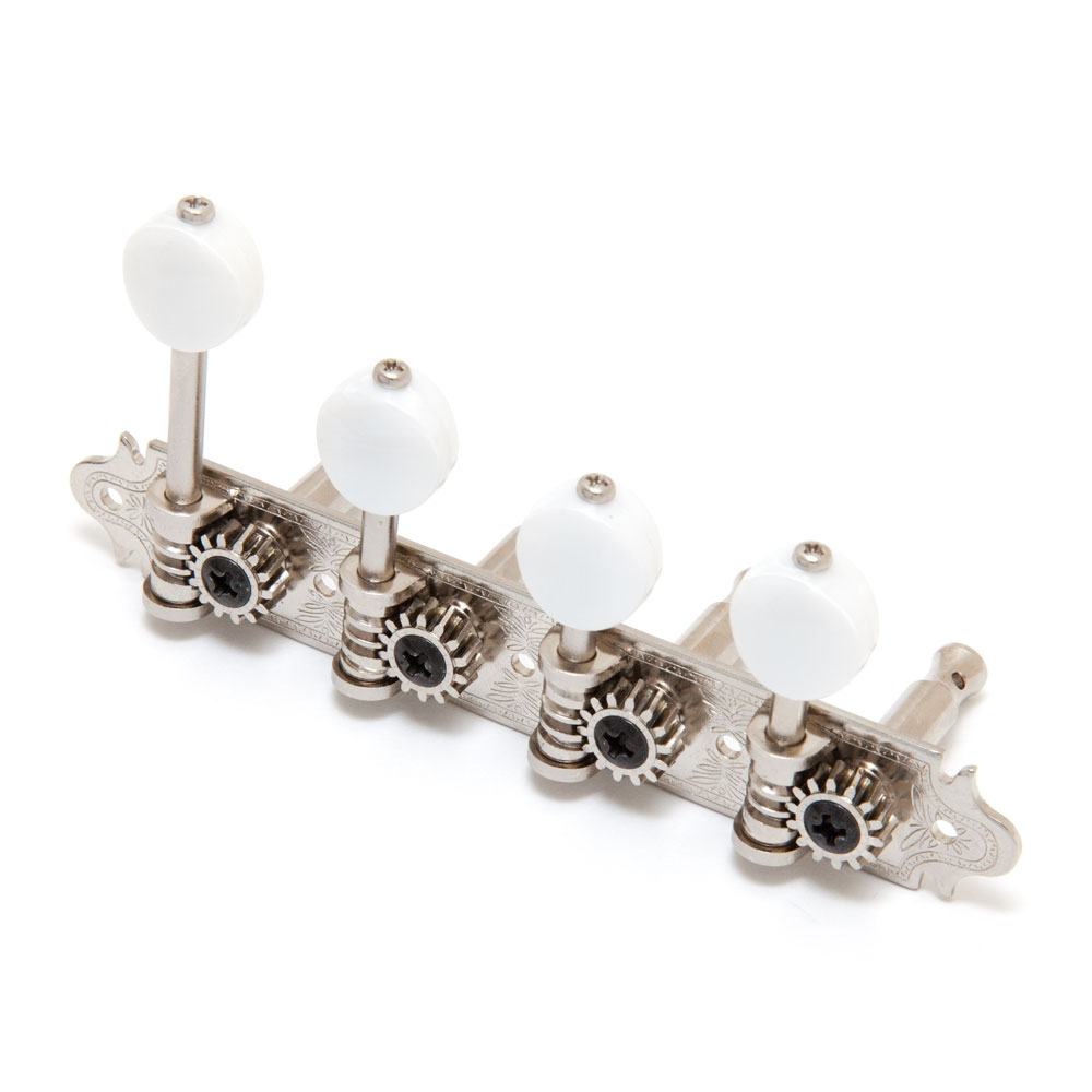 Gotoh MF40 F Style Mandolin Tuners (Nickel, MP)