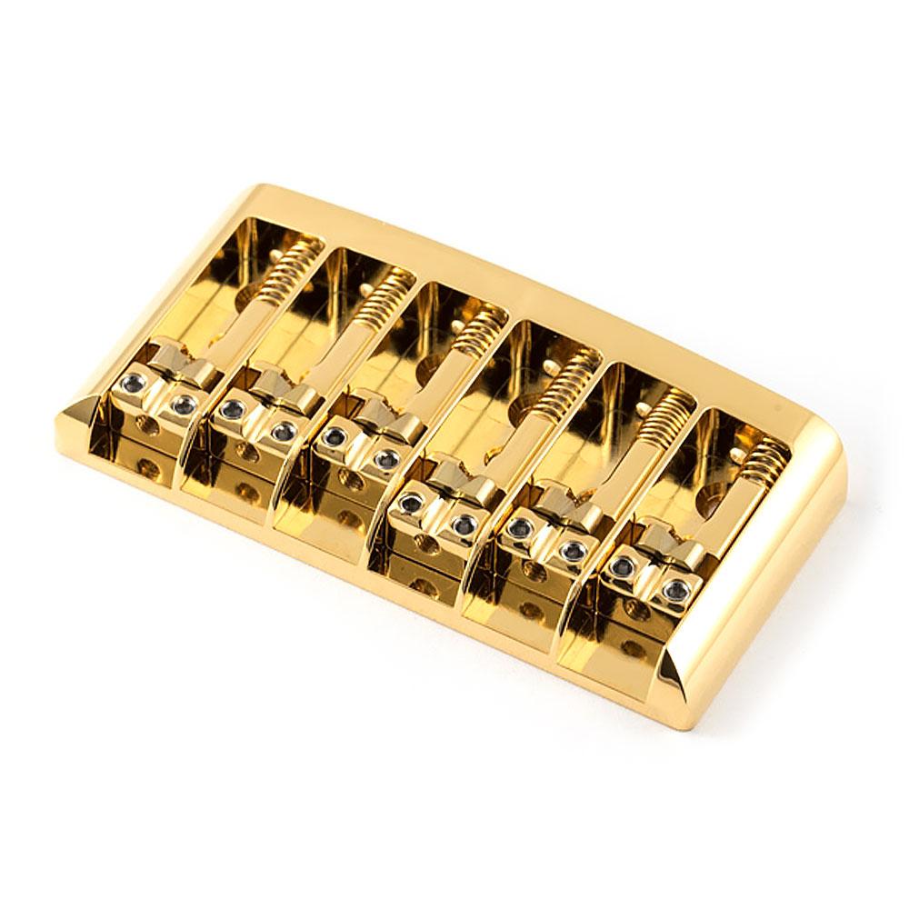 ABM 3250 Hardtail Fixed Bridge (Gold, Brass)