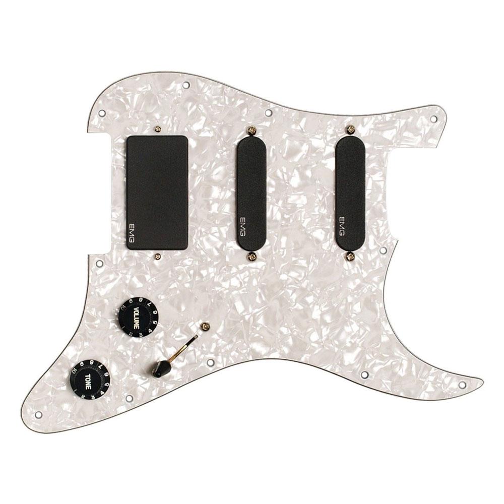 EMG KH20 Kirk Hammett Prewired Pickup and Scratchplate Set