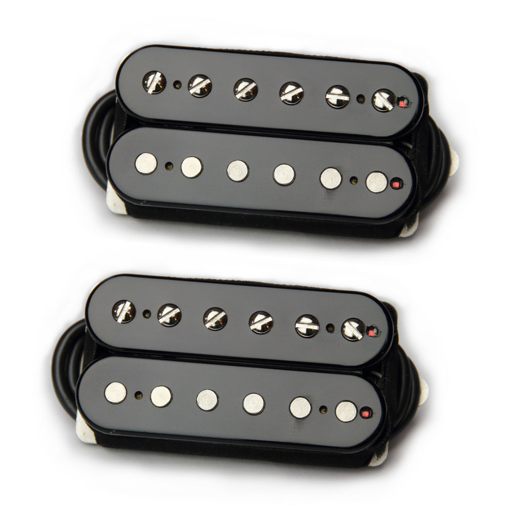 Bare Knuckle Pickups Boot Camp Brute Force Humbucker Set (Black, 50 mm)