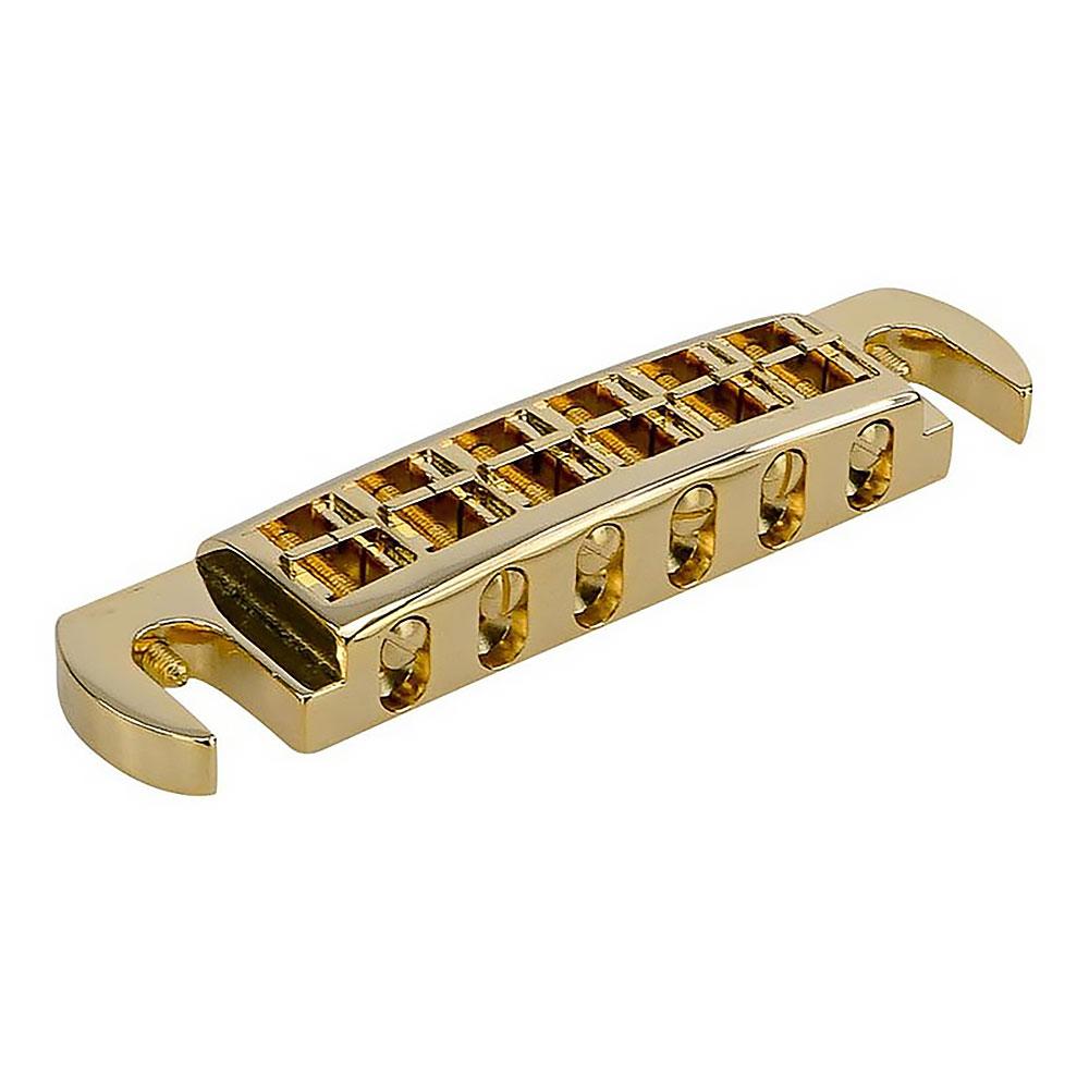 Faber Wraptonate Wraparound Bridge Tailpiece (Gold, Metric (mm))