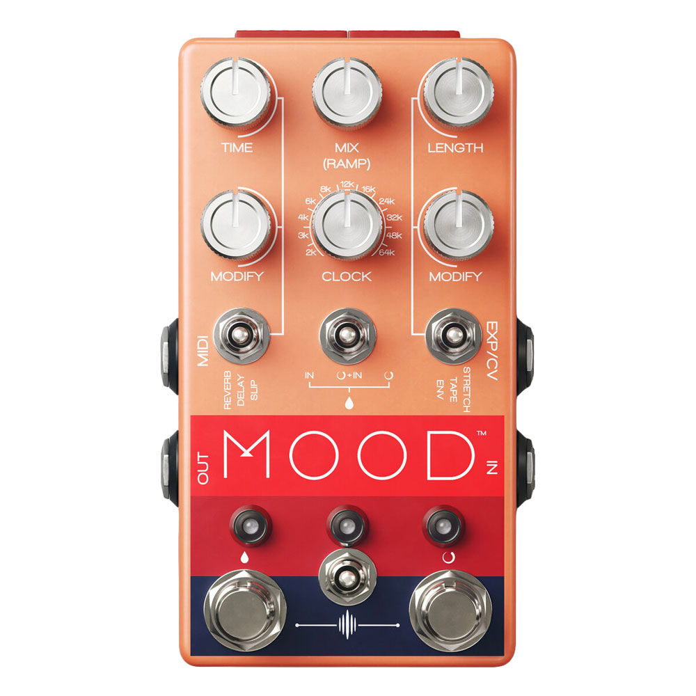 Chase Bliss Audio Mood Micro Looper Pedal with Delay and Reverb