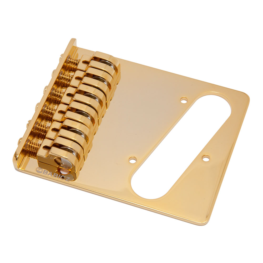 Babicz FCH Z Series Hardtail Telecaster Bridge (Gold)