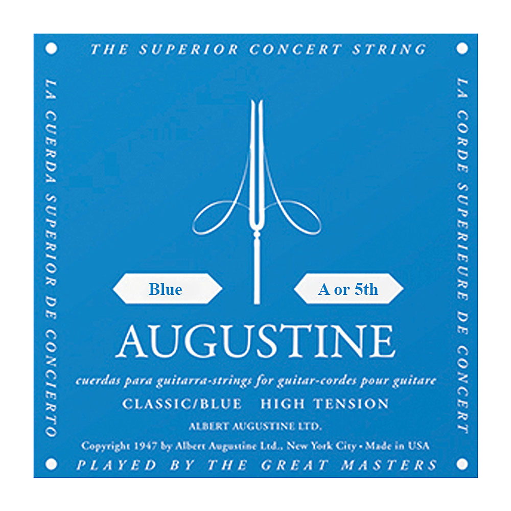 Augustine Blue Label Classic High Tension Single Strings (5th/A String)