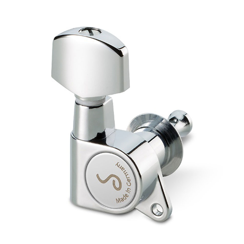 Schaller M6 Tuners 6 In-Line Right Handed 135 Screw (Chrome, .01)